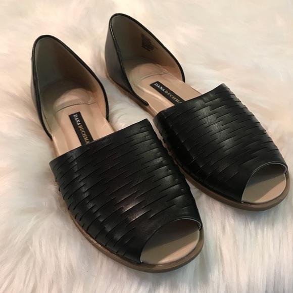 960c648188e167 Dana Buchman Shoes - Dana Buchman peep toe flats size 8.5. GUC